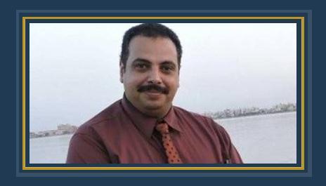 تامر الجندى المنسق العام للمجلس المصرى الدولى لحقوق الإنسان