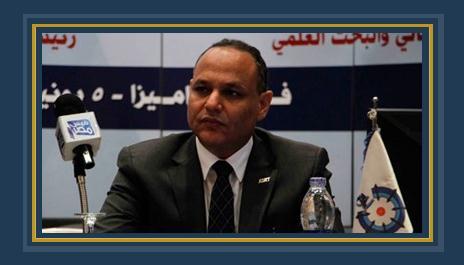 محمود صقر رئيس اكاديمية البحث العلمى