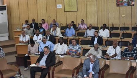 إجتماع المجلس التنفيذي لمحافظة أسوان
