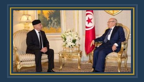 رئيس البرلمان الليبى يلتقى الرئيس التونسى