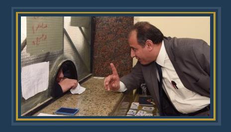 محافظ الاسكندرية يتفقد مكتب تموين العامرية