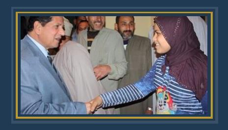 وكيل تعليم كفر الشيخ يزور الطلاب والطالبات بمنازلهم