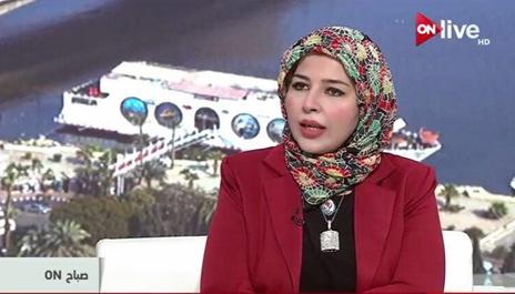 الدكتورة ريهام عبد الله عضو مرصد الأزهر باللغات الاجنبية