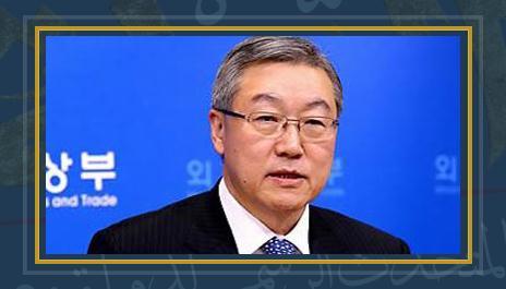 وزير الخارجية الكورى الجنوبى يون بيونج سيه