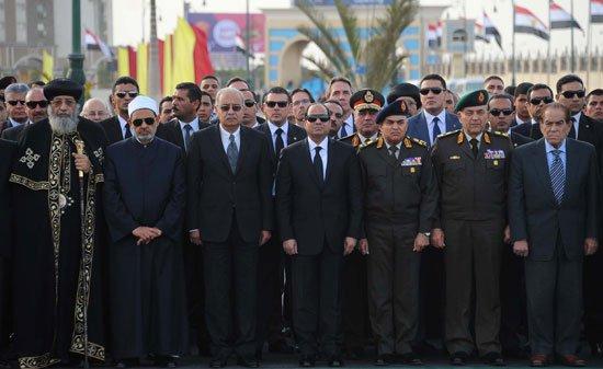 Image result for صور الجنازة العسكرية لبطرس