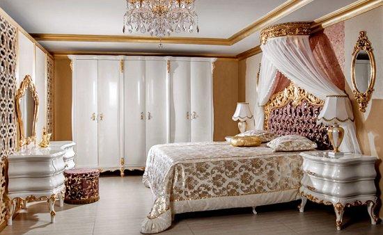 بالصور.. غرف نوم كلاسيك تركى على غرار حريم السلطان