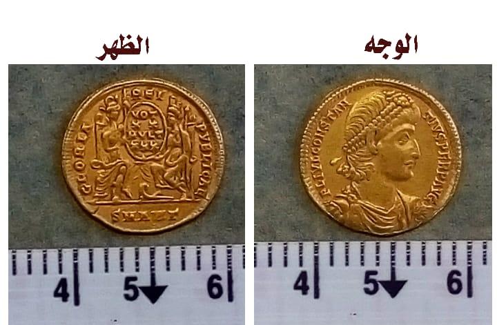 الكشف عن عملات ذهبية من العصر البيزنطى بمنطقة عين السبيل بالداخلة.. صور  52796-عملات-(1)
