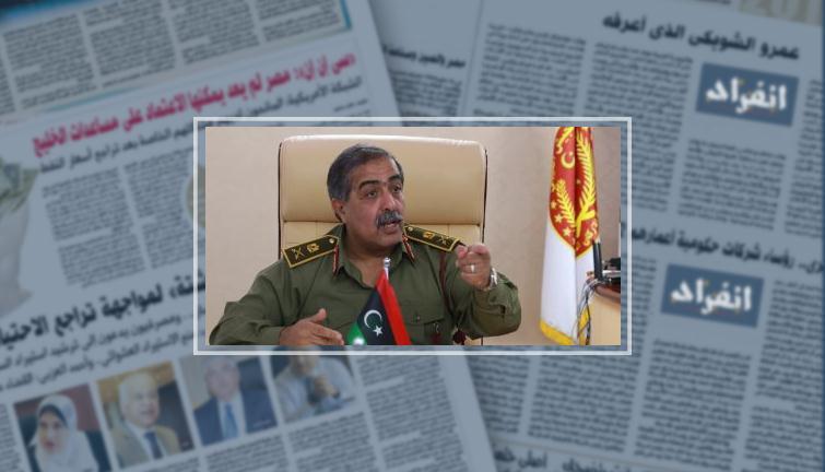 الحاكم العسكرى الليبى اللواء عبد الرازق الناظورى