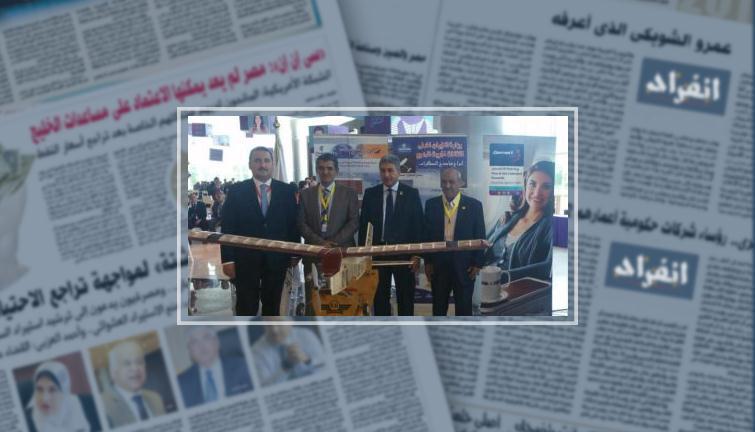 وزير الطيران يتفقد جناحى مصر للطيران على هامش مشاركته بمؤتمر الشباب - انفراد