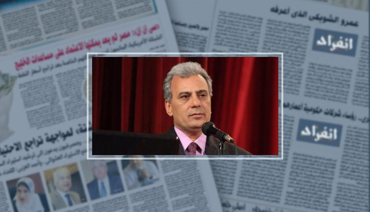 الدكتور جابر جاد نصار رئيس جامعة القاهره