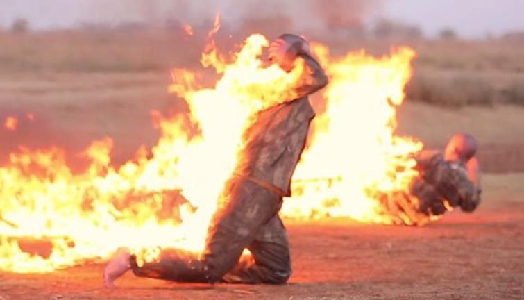 نتيجة بحث الصور عن حرق جنديين تركيين
