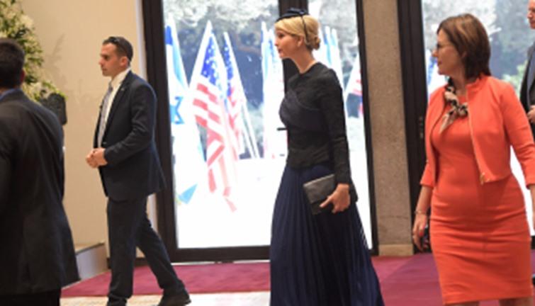 ايفانكا ترامب فى القدس