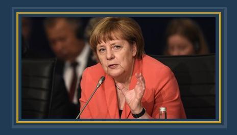 المستشارة الالمانية أنجيلا ميركل