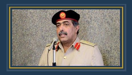 اللواء عبدالرزاق الناظورى رئيس الأركان العامة للقوات المسلحة الليبية