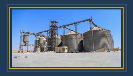 صورة ارشيفية- صوامع القمح