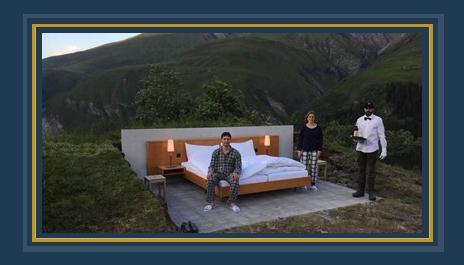 "فندق سويسرى ينفذ غرف ""open air """