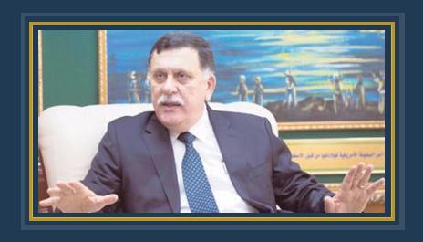 رئيس المجلس الرئاسى الليبى فائز السراج