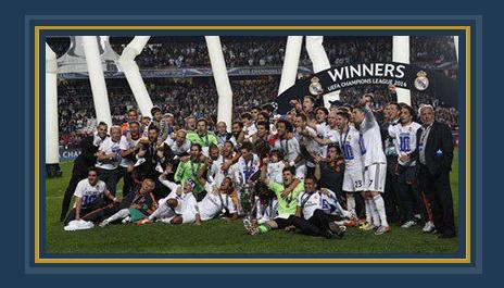 تتويج ريال مدريد بدورى أبطال أوروبا فى الموسم الأخير