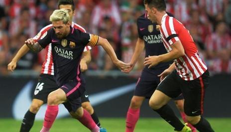 برشلونة ينتزع الفوز من أنياب بلباو