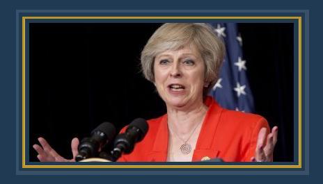 تيريزا ماى رئيس الحكومة البريطانية