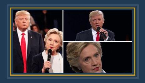 هيلارى كلينتون ودونالد ترامب