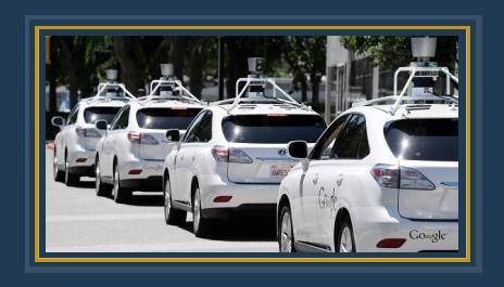 سيارت جوجل ذاتية القيادة