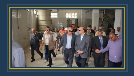 جولة تفقدية للمهندس عاطف عبد الحميد محافظ القاهرة - ارشيفية