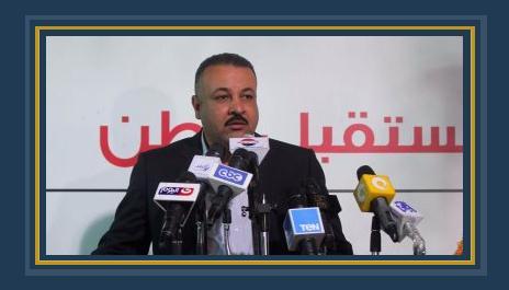 عاطف ناصر ئيس الهيئة البرلمانية لحزب مستقبل وطن