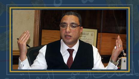 الدكتور أحمد الأنصارى رئيس هيئة الإسعاف