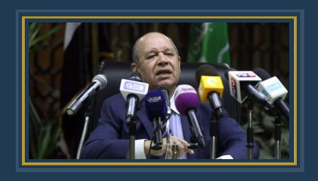 المستشار أحمد ابو العزم رئيس قسم التشريع بمجلس الدولة