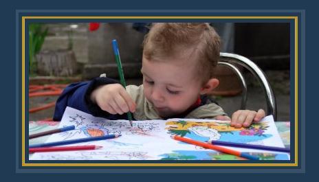 أطفال يرسمون -أرشيفية