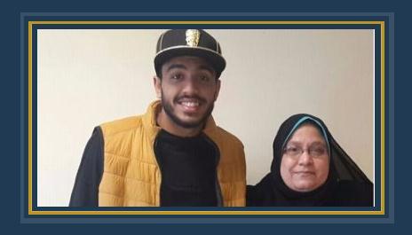محمود كهربا ووالدته