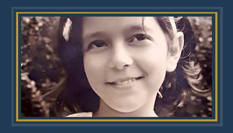 سميرة سعيد في طفولتها