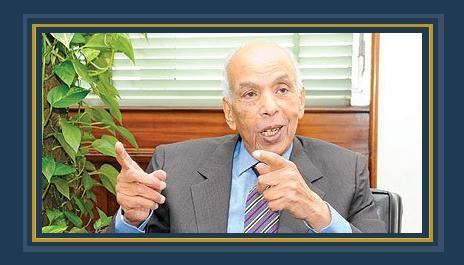 الكاتب الكبير إبراهيم نافع نقيب الصحفيين الأسبق