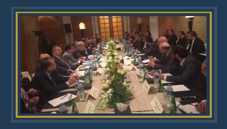 جانب من لقاء مجلس الأعمال المصرى- العراقى