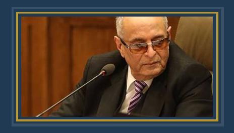 المستشار بهاء أبوشقة رئيس اللجنة الدستورية والتشريعية