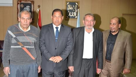اللواء احمد ضيف صقر محافظ الغربية رفعت محمد الشافعي