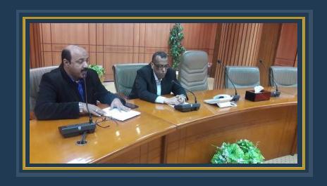 السكرتير العام ومدير فرع محو الامية ببورسعيد