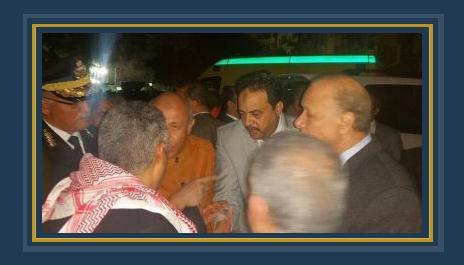 محافظ القاهرة يتفقد محل سقوط برج كهرباء على عقار بجسر السويس