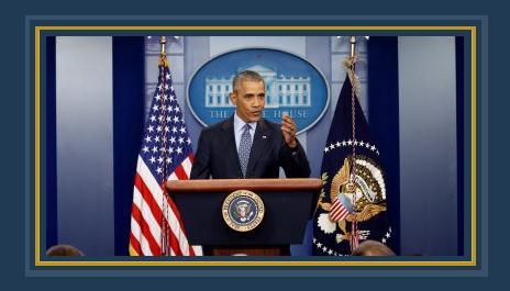خطاب أوباما الأخير