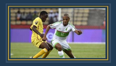 جانب من مباراة الجزائر وزيمبابوي