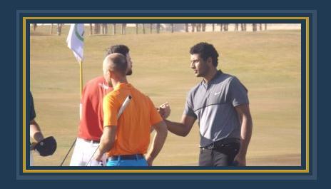 لاعب الجولف المصرى عيسى أبو العلا