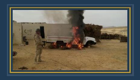 حملات أمنية فى سيناء