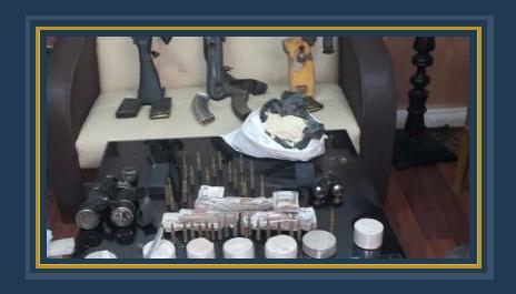 مواد مخدرة وأسلحة -أرشيفية