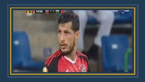 طارق حامد لاعب وسط الفراعنة