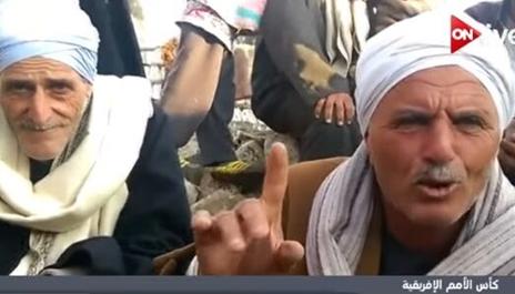 دعوات ملايين المصريين للمنتخب الوطنى