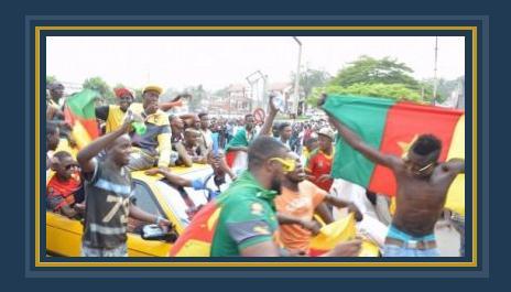 جماهير الكاميرون تستقبل أبطال أفريقيا