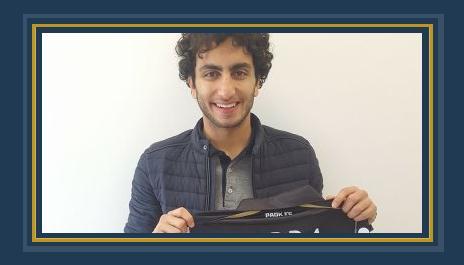 عمرو وردة بقميص باوك