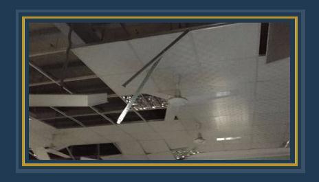 سقوط سقف مستشفى طنطا