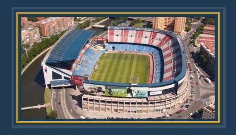 ملعب فيسنتى كالديرون معقل أتلتيكو مدريد